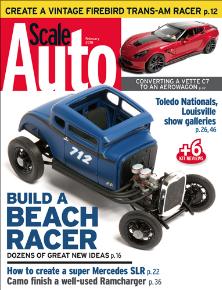 Scale Auto Mag Cover